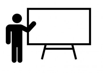 A training presentation
